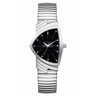 Hamilton Ventura Ladies' Stainless Steel Bracelet Watch - Product number 9192042