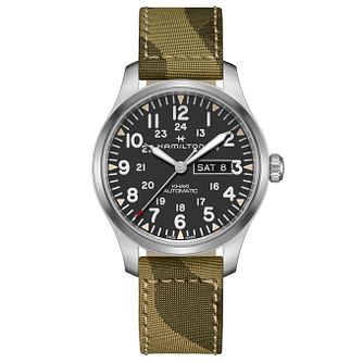 Hamilton Khaki Field Men's Camo Strap Watch - Product number 9192395