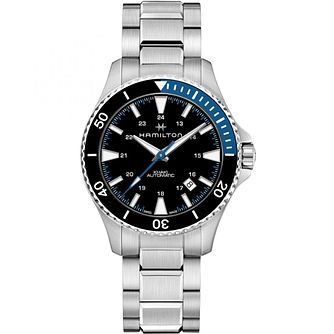 Hamilton Khaki Scuba Men's Stainless Steel Bracelet Watch - Product number 9192662