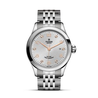 Tudor Ladies' 1926 Silver Dial Bracelet Watch - Product number 9192670