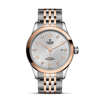 Tudor Ladies' Two Colour Silver Dial Bracelet Watch - Product number 9192689