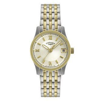 Rotary Two Tone Ladies' Bracelet Watch - Product number 9204849