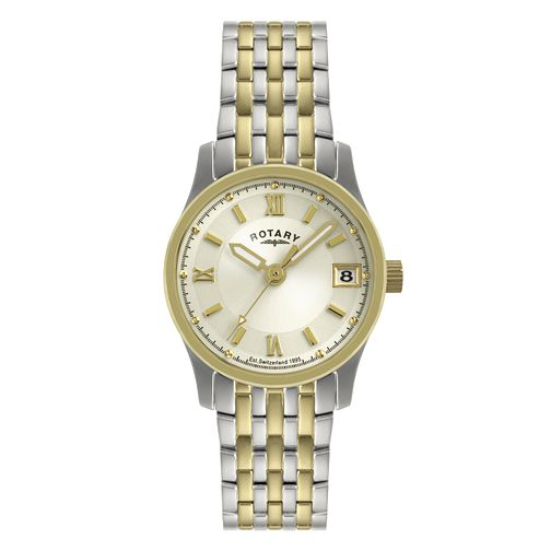 Rotary Ladies' Timepieces Two Tone Bracelet Watch - Product number 9204849