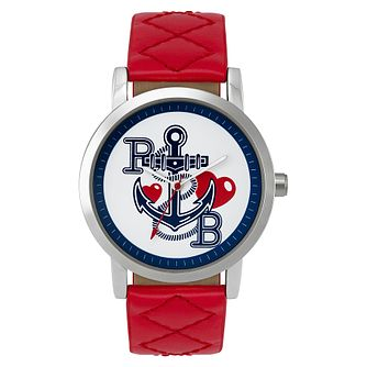 Paul's Boutique Mia Red Strap Watch - Product number 9205195