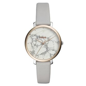Fossil Jacqueline Ladies' Two Colour Marble Strap Watch - Product number 9227024