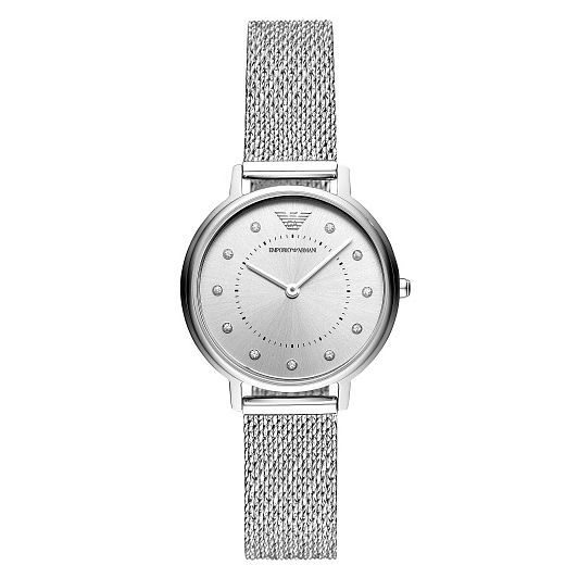 Emporio Armani Stainless Steel Mesh Bracelet Watch - Product number 9227091