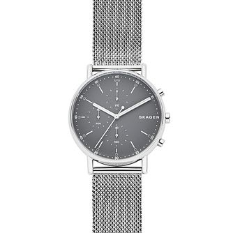 Skagen Signatur Men's Grey Chronograph Bracelet Watch - Product number 9227245