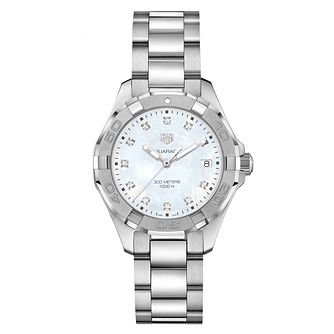 TAG Heuer Aquaracer Ladies' Stainless Steel Bracelet Watch - Product number 9227326
