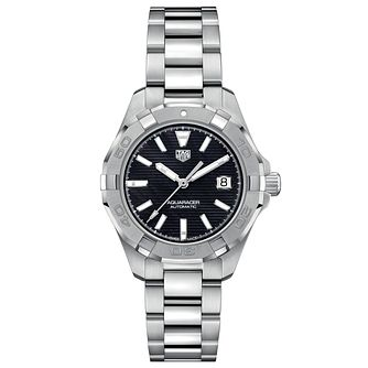 TAG Heuer Aquaracer Ladies' Stainless Steel Bracelet Watch - Product number 9227334
