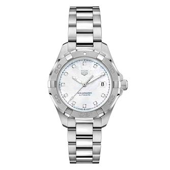 Tag Heuer Aquaracer Diamond Ladies' Bracelet Watch - Product number 9227342