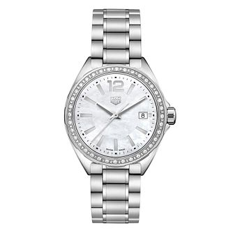 TAG Heuer Formula 1 Diamond Stainless Steel Bracelet Watch - Product number 9227377