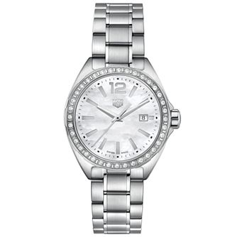 Heuer Formula 1 Ladies' Stainless Steel Bracelet Watch - Product number 9227385