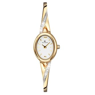 Accurist Ladies' Stone Set Gold Bangle Watch - Product number 9229833