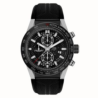 TAG Heuer Aston Martin Carrera Men's Black Strap Watch - Product number 9231641