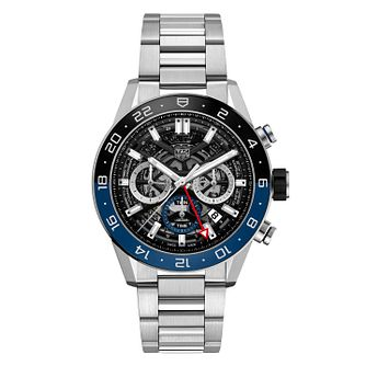 TAG Heuer Carrera Men's Stainless Steel Bracelet Watch - Product number 9232109