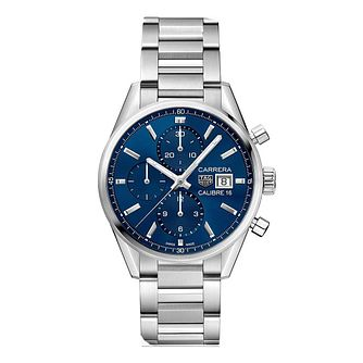 TAG Heuer Carrera Men's Stainless Steel Bracelet Watch - Product number 9232141