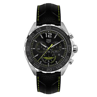Tag Heuer Aston Martin Formula 1 Men's Black Strap Watch? - Product number 9232214