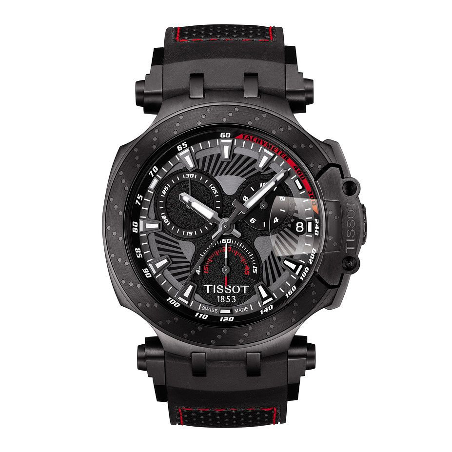 Tissot T-Race Moto Gp Men's Grey Strap Watch - Product number 9269606
