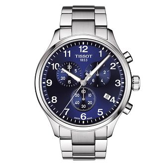 Tissot Chrono XL Men's Blue Dial Bracelet Watch - Product number 9271457