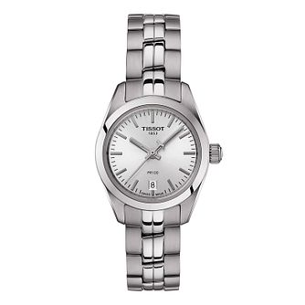 Tissot Ladies' Pr 100 Silver Dial Bracelet Watch - Product number 9273581