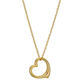 Together Silver & Bonded Gold Heart Pendant - Product number 9294295