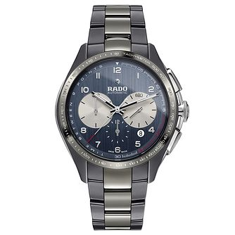 Rado Hyperchrome Men's Blue Ceramic Bracelet Watch - Product number 9299998