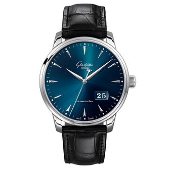Glashutte Senato Men'S Stainless Steel Strap Watch - Product number 9300112