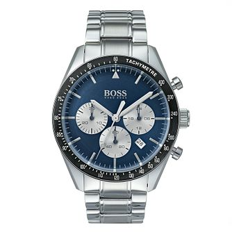 Hugo Boss Men's Trophy Sport Blue Bracelet Watch - Product number 9301224