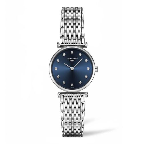 Longines Ladies' Stainless Steel Blue Dial Bracelet Watch - Product number 9301348