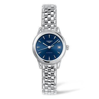 Longines Ladies' Stainless Steel Flagship Blue Dial Watch - Product number 9301461