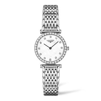 Longines La Grande Classique Ladies' Diamond Bracelet Watch - Product number 9301488