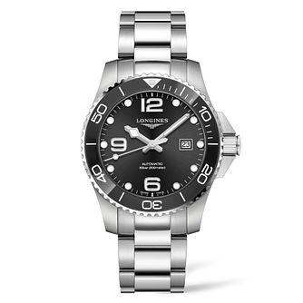Longines HydroConquest Men's Stainless Steel Bracelet Watch - Product number 9301607