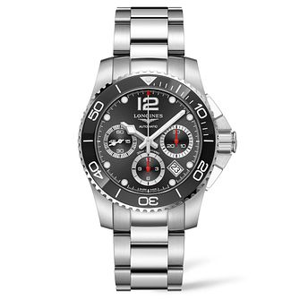 Longines Hydroconquest Men's Stainless Steel Bracelet Watch - Product number 9301763
