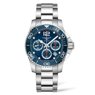 Longines HydroConquest Men's Stainless Steel Bracelet Watch - Product number 9301828