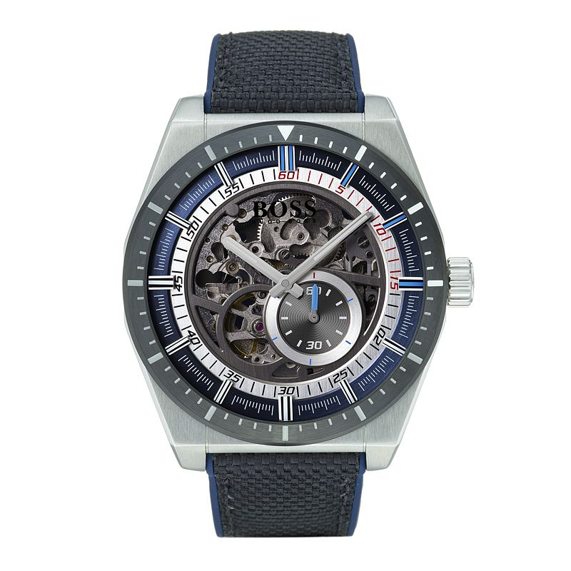 BOSS Gen 4  Men's Stainless Steel Skeleton Strap Watch - Product number 9302166