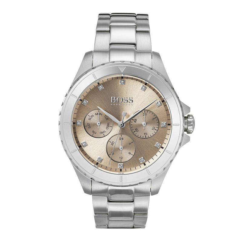 BOSS Premiere Crystal Ladies' Stainless Steel Bracelet Watch - Product number 9302190