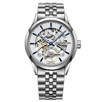 Raymond Weil Freelancer Men's Stainless Steel Bracelet Watch - Product number 9302360
