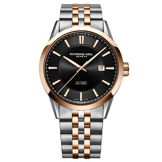 Raymond Weil Freelancer Men's Two-Tone Bracelet Watch - Product number 9302506