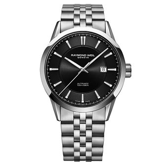 Raymond Weil Freelancer Men's Stainless Steel Bracelet Watch - Product number 9302514
