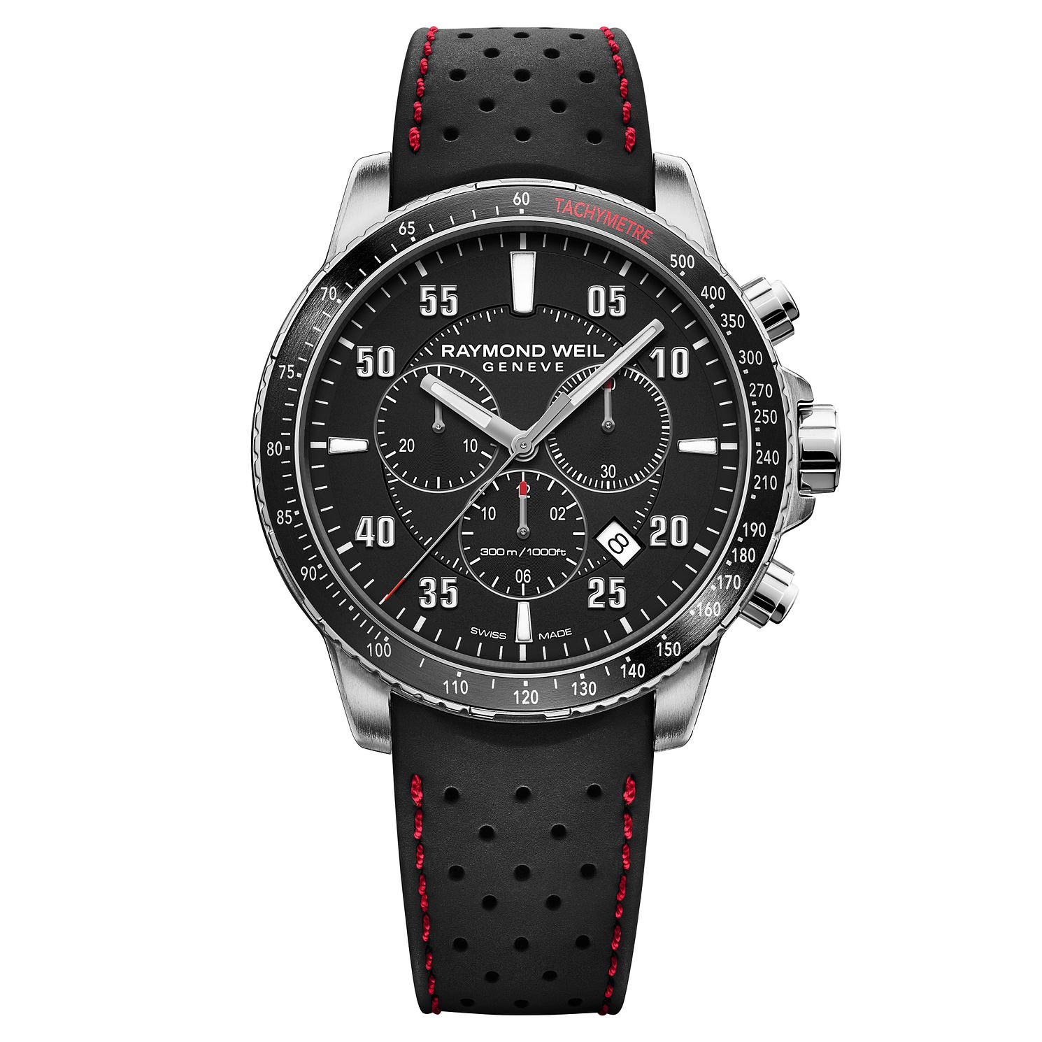 Raymond Weil Tango Men's Chronograph Black Strap Watch - Product number 9302816