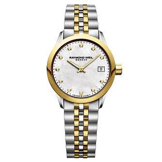 Raymond Weil Freelancer Ladies' Two-Tone Bracelet Watch - Product number 9302824