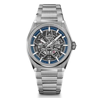 Zenith Defy Men's Skeleton Stainless Steel Bracelet Watch - Product number 9303529