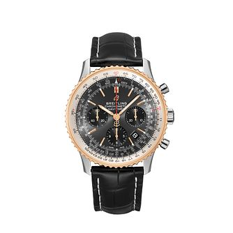 Breitling Navitimer 1 Men's Black Strap Watch - Product number 9304738