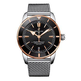 Breitling Superocean Heritage II Men's Mesh Bracelet Watch - Product number 9304800