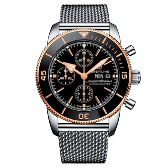 Breitling Superocean Heritage II Men's Steel Bracelet Watch - Product number 9305106