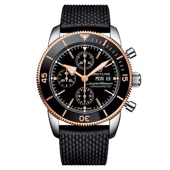 Breitling Superocean Heritage II Men's Rubber Strap Watch - Product number 9305114