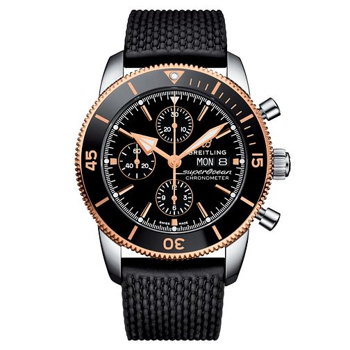 Breitling Superocean Two Coloured Chronograph Watch - Product number 9305114