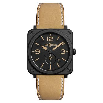 Bell & Ross Men's Brown Strap Watch - Product number 9306307