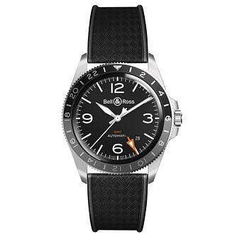 Bell & Ross Men's Black Strap Watch - Product number 9306374