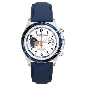 Bell & Ross Limited Edition Racing Bird Leather Strap Watch - Product number 9306382